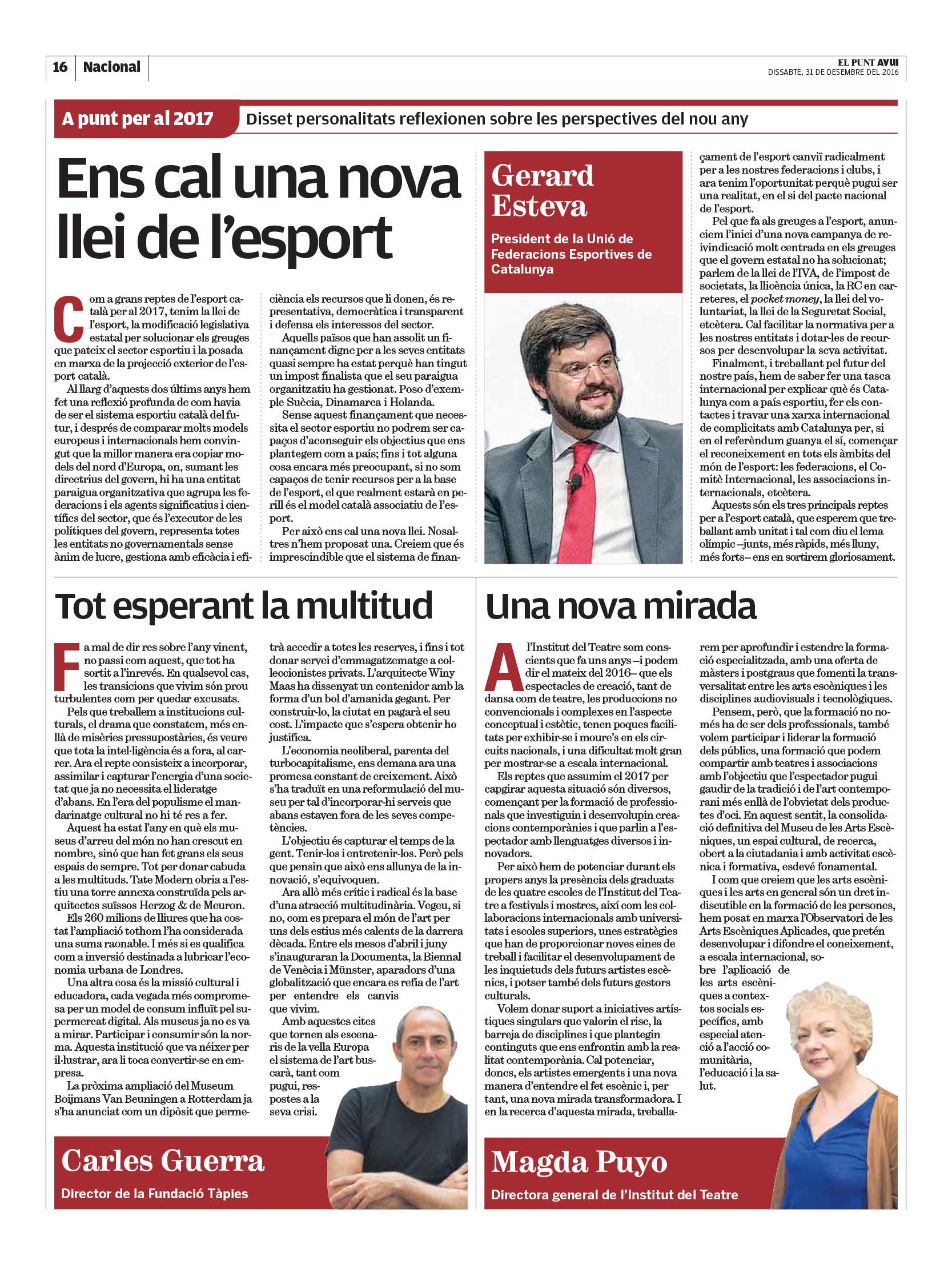 opinio llei de l'esport_elpunt_02-01-2017