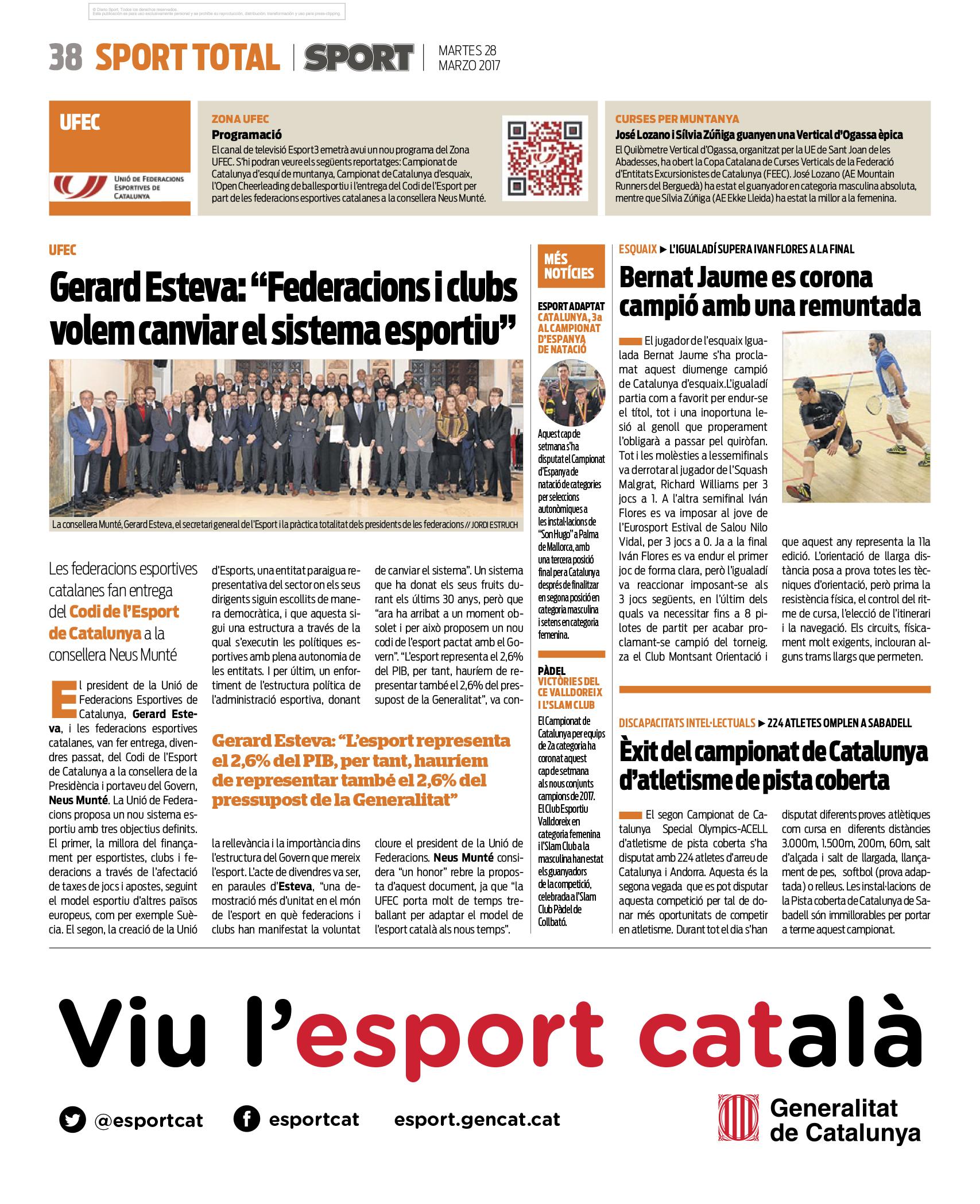 recepció neus Munté_sport_28-03-2017